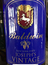鲍德温约瑟夫年份半甜型甜酒(Baldwin Vineyards Joseph's Vintage,NY,USA)
