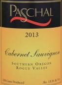 帕斯卡尔赤霞珠干红葡萄酒(Paschal Winery Cabernet Sauvignon,Rogue Valley,USA)