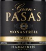 帕萨斯酒庄胡米亚莫纳斯特雷尔红葡萄酒(Pasas Jumilla Monastrell, Mercia, Spain)
