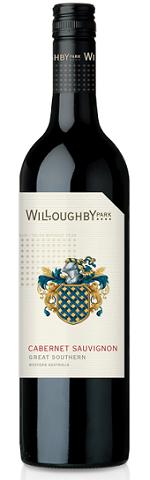 威乐比园赤霞珠干红葡萄酒(Willoughby Park Cabernet Sauvignon,Great Southern,Australia)