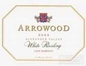 艾洛德酒庄迟摘雷司令干白葡萄酒(Arrowood Vineyards Late Harvest White Riesling, Alexander Valley, USA)