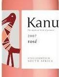 卡诺桃红葡萄酒(Kanu Rose,Stellenbosch,South Africa)