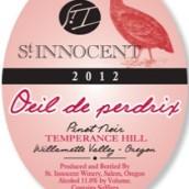 圣纯洁节制山皮瑞爵克斯桃红葡萄酒(St.Innocent Temperance Hill Vineyard Oeil de Perdrix,Eola-...)