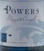 Powers Muscat Canelli,Columbia Valley,USA