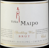 迈坡天然桃红起泡酒(Vina Maipo Sparkling Brut Rose,Central Valley,Chile)