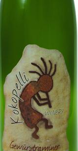 可可佩里琼瑶浆干白葡萄酒(Kokopelli Gewurztraminer,Arizona,USA)