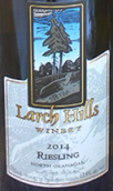 落叶松山酒庄雷司令干白葡萄酒(Larch Hills Riesling,Okanagan Valley,Canada)