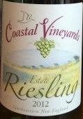 滨海酒庄庄园雷司令干白葡萄酒(Coastal Vineyards Estate Riesling,Massachusetts,USA)