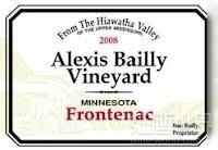 贝利芳堤娜干红葡萄酒(Alexis Bailly Frontenac,Minnesota,USA)
