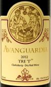 阿凡瓜迪亚三个%22T%22混酿干红葡萄酒(Avanguardia Tre%22T%22 Blend,Sierra Foothills,USA)