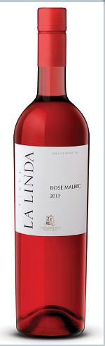 露奇波斯加芬卡琳达马尔贝克桃红葡萄酒(Luigi Bosca Finca La Linda Malbec Rose,Mendoza,Argentina)