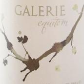 画馆酒庄骑士长相思干白葡萄酒(Galerie Equitem Sauvignon Blanc, Knights Valley, USA)