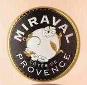 米拉沃桃红葡萄酒(Chateau Miraval Rose, Cotes de Provence, France)