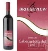 桥景赤霞珠梅洛干红葡萄酒(Bridgeview Vineyards Cabernet - Merlot, Oregon, USA)