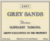 灰沙西拉干红葡萄酒(Grey Sands Shiraz,Tamar Valley,Australia)