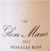 格伦庄园莫罗莎干型桃红葡萄酒(Glen Manor Vineyards Morales Rose,Virginia,USA)