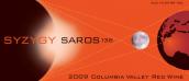 朔望沙罗周期干红葡萄酒(Syzygy Saros, Columbia Valley, USA)
