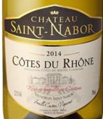 圣拿波传统干白葡萄酒(Chateau Saint Nabor Cotes du Rhone Tradition Blanc, Rhone, France)