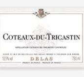 德拉斯兄弟科托-特卡斯丹干红葡萄酒(Delas Freres Coteaux du Tricastin,Rhone,France)
