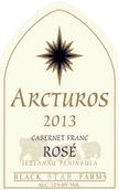 黑星农场大角星品丽珠桃红葡萄酒(Black Star Farms Arcturos Cabernet Franc Rose,Leelanau ...)