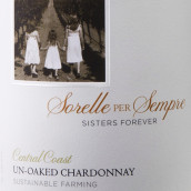 多纳提家族姐妹万岁霞多丽干白葡萄酒(未过桶)(Donati Family Vineyard Sisters Forever UnOaked Chardonnay,...)