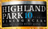 高原骑士10年维京之痕苏格兰单一麦芽威士忌(Highland Park 10 Year Old Viking Scars Single Malt Scotch ...)