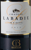 拉巴狄酒庄红葡萄酒(Chateau Labadie, Medoc, France)