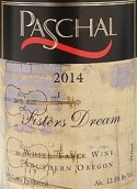帕斯卡尔姐妹之梦半干型起泡葡萄酒(Paschal Winery Sisters Dream Semi Sparkling,Oregon,USA)