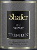 思福无情园干红葡萄酒(Shafer Relentless,Napa Valley,USA)