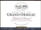 大荷马庄园红葡萄酒(Domaine du Grand Ormeau, Lalande-de-Pomerol, France)