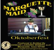 鹰陆马奎特少女十月节甜白葡萄酒(Eagles Landing Winery Marquette Maid Oktoberfest,Iwoa,USA)