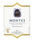 蒙特斯晚收琼瑶浆贵腐甜白葡萄酒(Montes Late Harvest Botrytised Grapes Gewurztraminer,Curico ...)