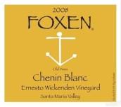 福克森埃内斯托维肯登园老藤白诗南干白葡萄酒(Foxen Ernesto Wickenden Vineyard Old Vines Chenin Blanc,...)