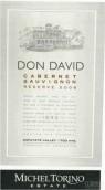 艾斯德科唐大卫系列珍藏赤霞珠红葡萄酒(El Esteco Don David Reserve Cabernet Sauvignon, Salta, Argentina)