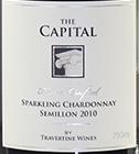 石灰华上等霞多丽-赛美蓉起泡酒(Travertine The Capital Sparkling Chardonnay Semillon,...)