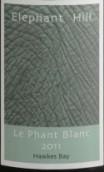 象山乐彩维欧尼-灰皮诺-琼瑶浆干白葡萄酒(Elephant Hill Le Phant Blanc Viognier-Pinot Gris-Gewurztraminer, Hawke's Bay, New Zealand)