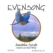 晚祷西拉红葡萄酒(Evensong Vineyards Amabile Syrah,Oregon,USA)