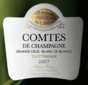 泰亭哲伯爵白中白香槟(Champagne Taittinger Comtes de Champagne Blanc de Blancs, Champagne, France)