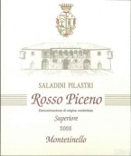 萨拉丁尼·比拉斯特利蒙特缇内罗园皮切诺干红葡萄酒(Saladini Pilastri Vigna Montetinello Piceno Superiore Rosso,...)