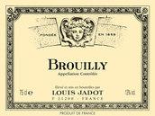 路易亚都布鲁依红葡萄酒(Louis Jadot Brouilly,Beaujolais,France)