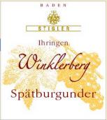 施蒂格勒依瑞恩温克乐堡黑皮诺优质干红葡萄酒(Weingut Stigler Ihringen Winklerberg Spatburgunder QbA trocken, Baden, Germany)