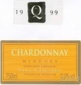 朱卡迪园朱卡迪Q霞多丽干白葡萄酒(Familia Zuccardi 'Zuccardi Q' Chardonnay, Tupungato, Argentina)