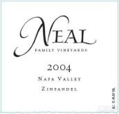 尼尔家族仙粉黛干红葡萄酒(Neal Family Vineyards Zinfandel,Rutherford,USA)