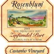罗森布拉姆栗子园仙粉黛波特酒(Rosenblum Cellars Castanho Vineyard Zinfandel Port,Contra ...)