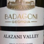 巴达格尼酒庄半甜白葡萄酒(Badagoni Semi-Sweet White, Alazani Valley, Georgia Republic)