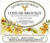 杜宝夫布鲁依丘庄干红葡萄酒(Georges Duboeuf Cote de Brouilly,Beaujolais,France)
