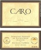 凯洛酒庄卡洛干红葡萄酒(Bodegas Caro Caro, Mendoza, Argentina)
