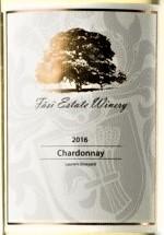 法丝霞多丽干白葡萄酒(Fasi Estate Winery Chardonnay, Madera County, USA)