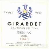 吉拉黛酒庄雷司令干白葡萄酒(Girardet Riesling, Umpqua Valley, USA)