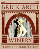 拱门农夫女儿红葡萄酒(Brick Arch Winery Farmer's Daughter,Iowa,USA)